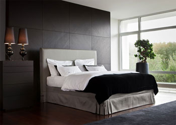 schramm boxspring betten schlafsysteme. Black Bedroom Furniture Sets. Home Design Ideas